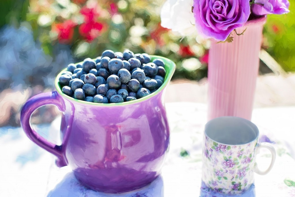blueberries - anti-anxiety food